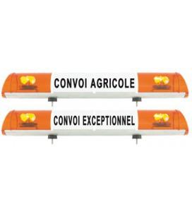 RAMPE CONVOI AGRICOLE 970MM DE SIGNALISATION FIXATION A VISSER