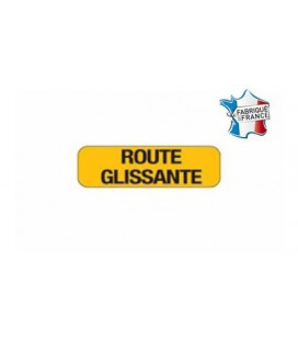 """PANONCEAU KM9 """"ROUTE GLISSANTE"""" T1"""