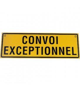 PANNEAU SIMPLE FACE CONVOI EXCEPTIONNEL EN ALU