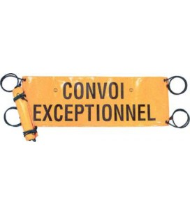 BACHE SOUPLE CONVOI EXCEPTIONNEL