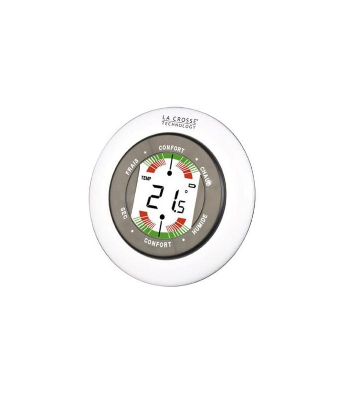 Thermometre et hygrometre d 39 interieur mat riel agricole for Thermometre maison interieur