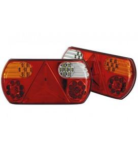 FEU ARRIERE LED 6 FONCTIONS 12/24V