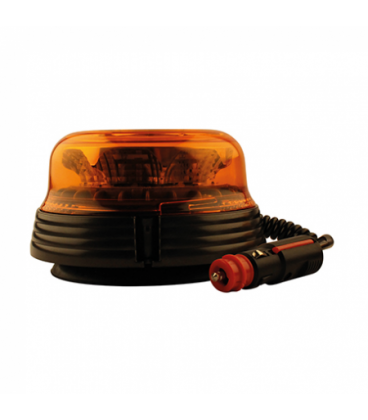 GYROPHARE A LED MAGNETIQUE 12/24V