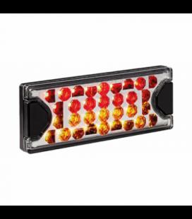 FEU ARRIERE 3 FONCTIONS LED 12/24V