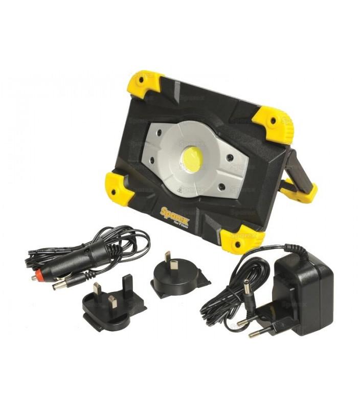 projecteur led rechargeable pour atelier et mecanicien. Black Bedroom Furniture Sets. Home Design Ideas