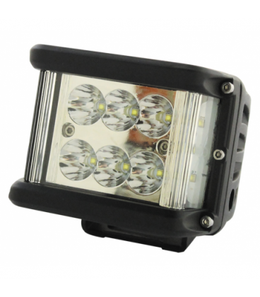 PHARE DE TRAVAIL 12 LED 6000 LUMENS FAISCEAU ULTRA LARGE