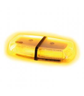 RAMPE DE TOIT 32 LED 12/24V MAGNETIQUE HOMOLOGUEE RB65 EFFET MIRROIR