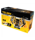 CAISSE A OUTILS COMPLETE 60 OUTILS TOLSEN