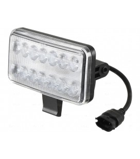 PHARE DE TRAVAIL A LED 2800 LUMENS ADAPTABLE CASE IH FORD NEW HOLLAND ET STEYR 82031071 82031070 82031075 82031078