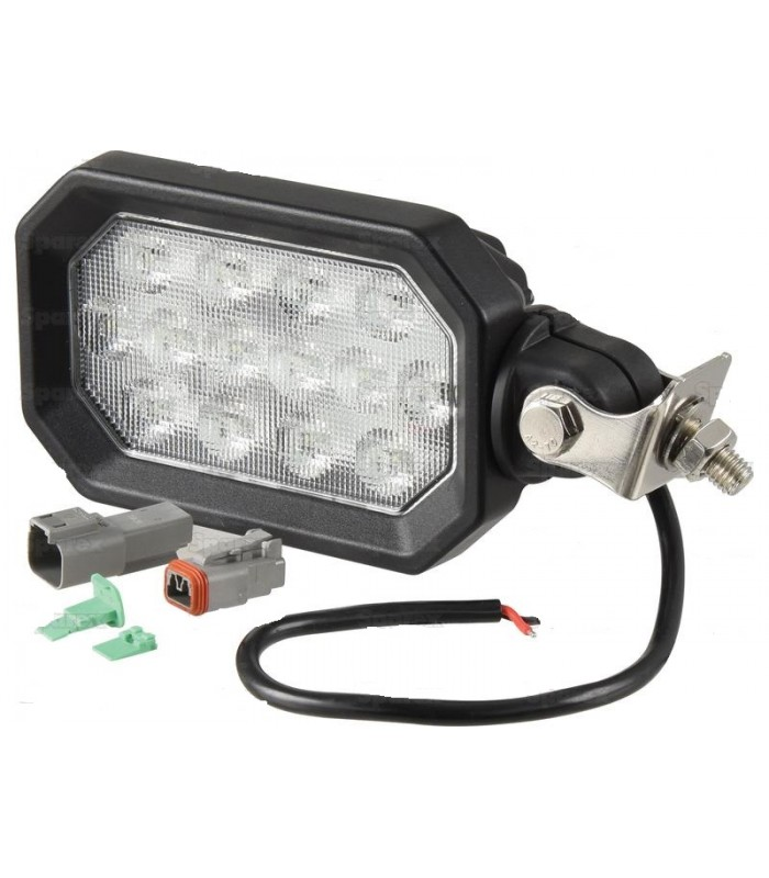 PHARE DE TRAVAIL A LED 2800 LUMENS ADAPTABLE CASE IH NEW HOLLAND ET STEYR