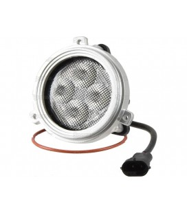 PHARE DE TRAVAIL ROND A LED 4000 LUMENS ADAPTABLE CASE IH NEW HOLLAND STEYR