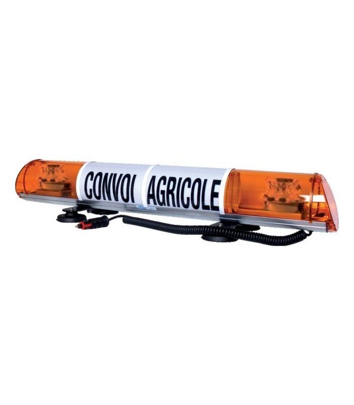 RAMPE CONVOI AGRICOLE ET EXCEPTIONNEL LED 970MM MAGNETIQUE