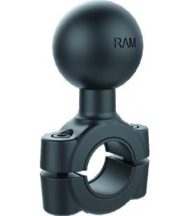 BASE DE FIXATION POUR TUBE 1,9 -2,54 CM BOULE C RAM-408-75-1U