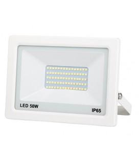 PROJECTEUR LED EXTRA PLAT BLANC 50W 4000LM