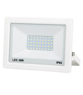 PROJECTEUR LED EXTRA PLAT BLANC 30W 2400LM